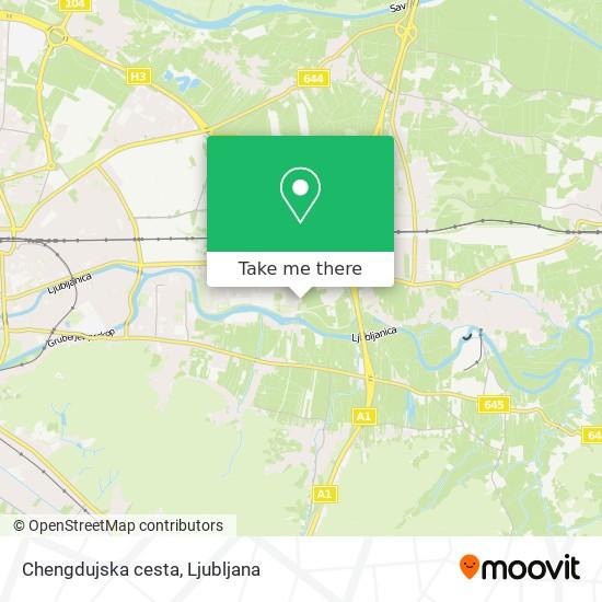 Chengdujska cesta map