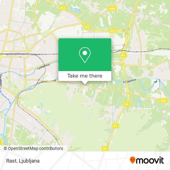 Rast map