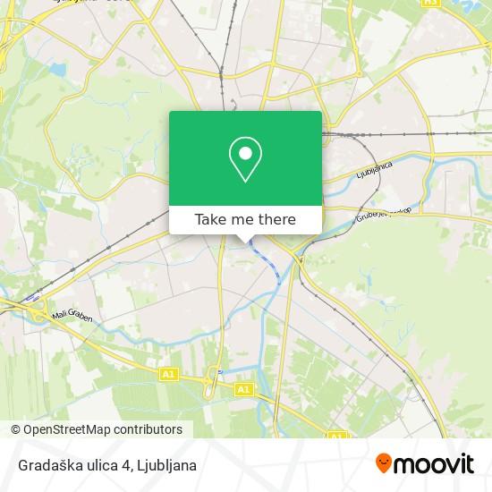 Gradaška ulica 4 map
