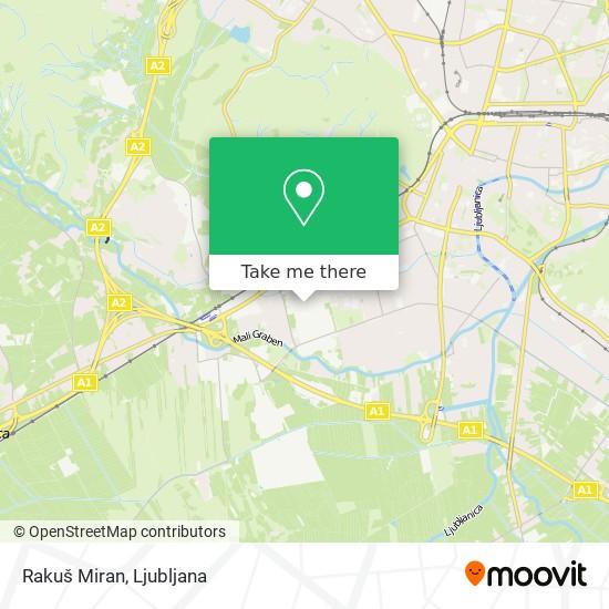 Rakuš Miran map