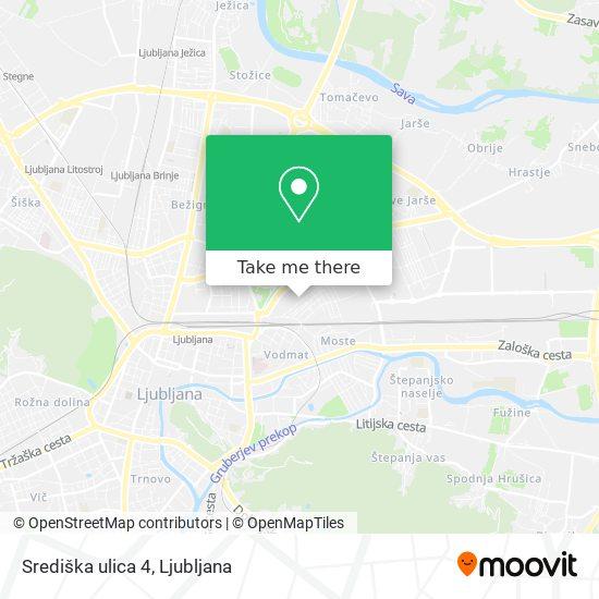 Središka ulica 4 map