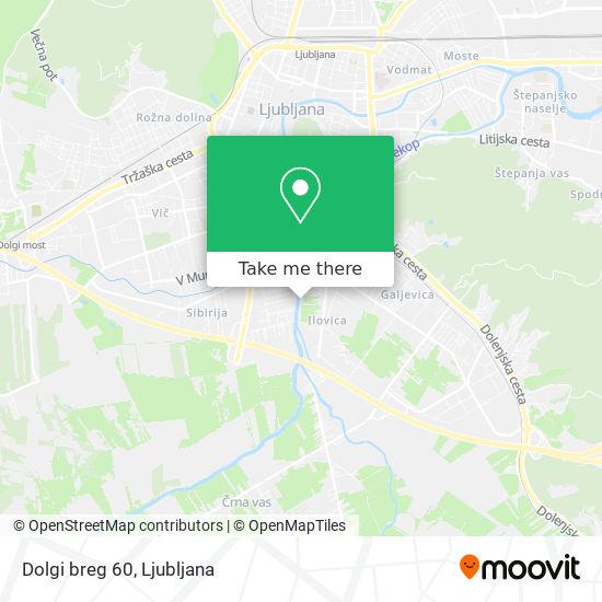 Dolgi breg 60 map
