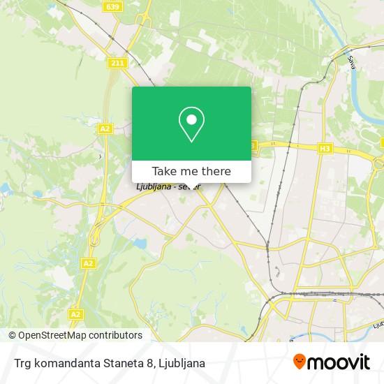 Trg komandanta Staneta 8 map