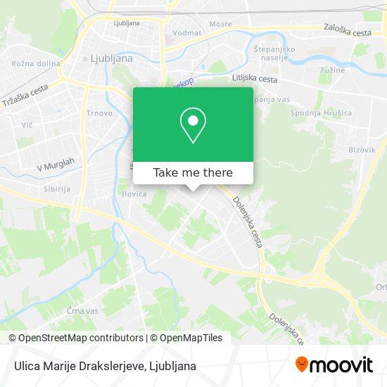 Ulica Marije Drakslerjeve map