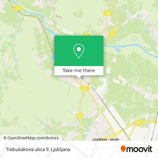 Trebušakova ulica 9 map