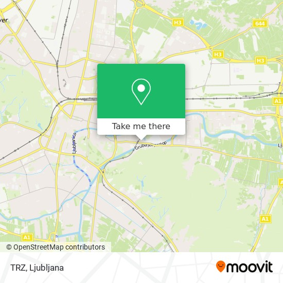 TRZ map