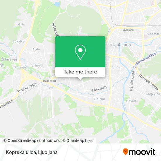Koprska ulica map