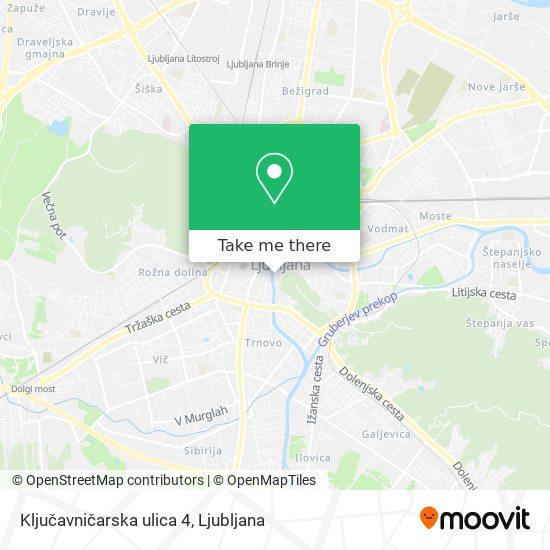 Ključavničarska ulica 4 map