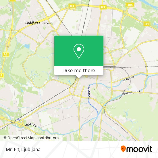 Mr. Fit map
