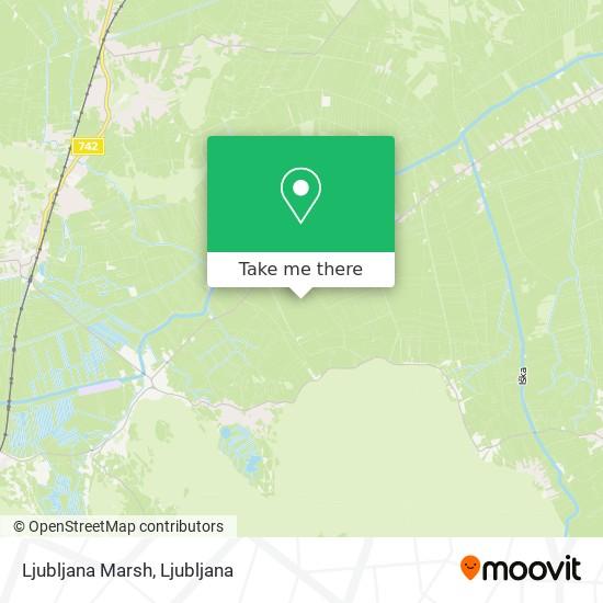 Ljubljana Marsh map