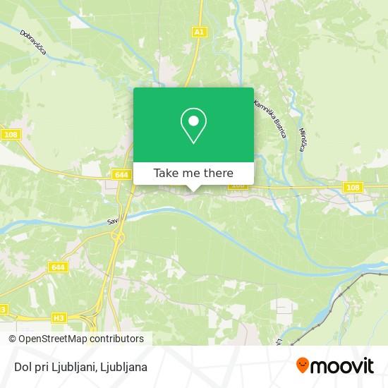 Dol pri Ljubljani map