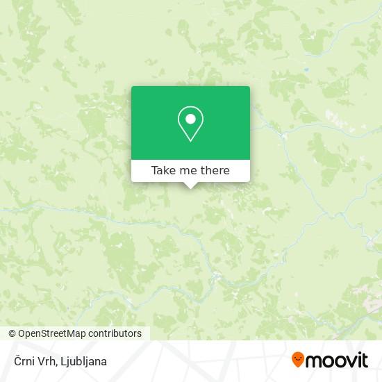 Črni Vrh map