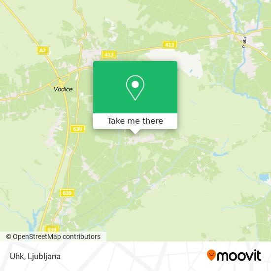 Uhk map