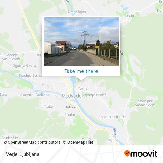Verje map