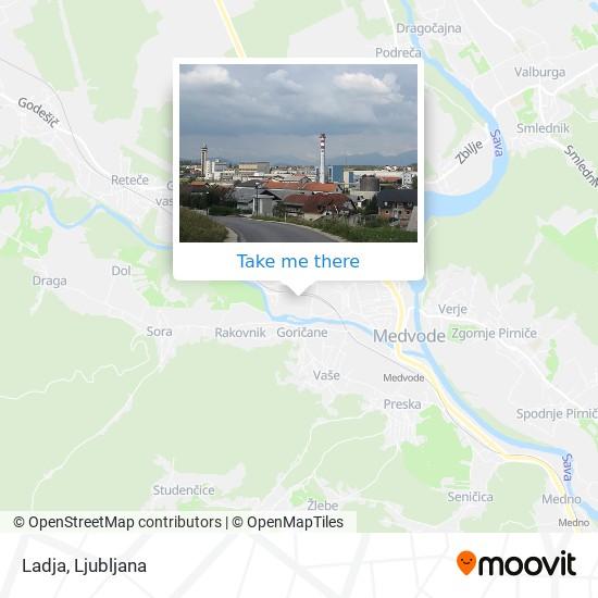 Ladja map