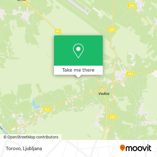 Torovo map