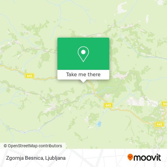 Zgornja Besnica map
