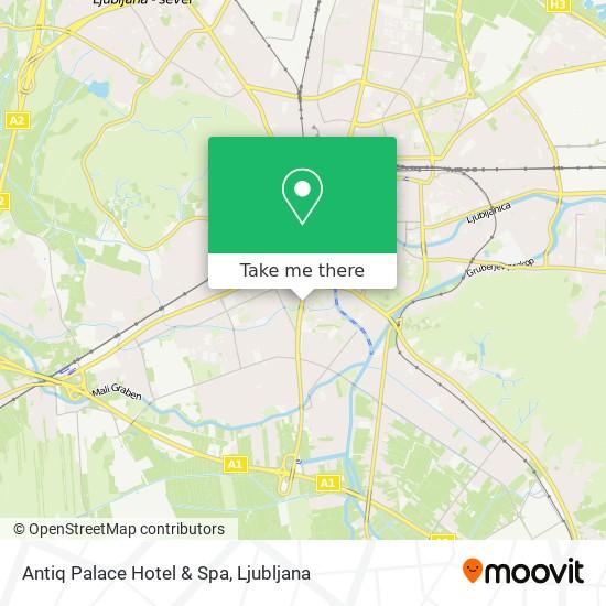 Antiq Palace Hotel & Spa map