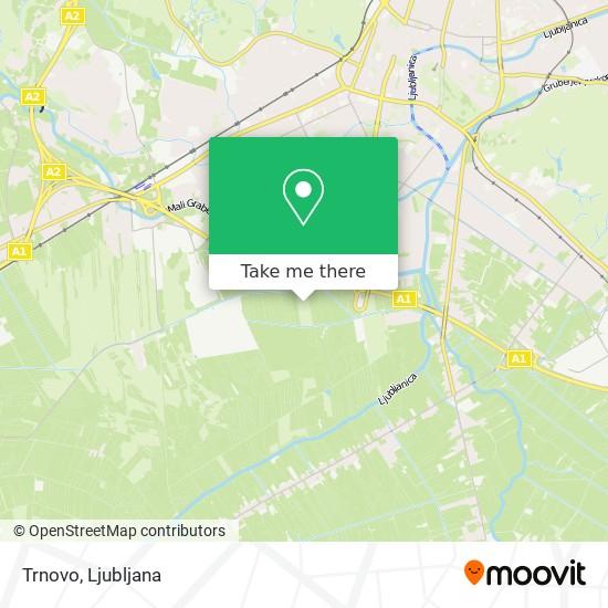 Trnovo map
