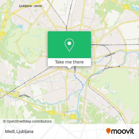 Medl map