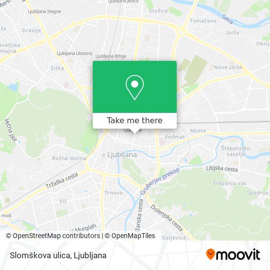 Slomškova ulica map