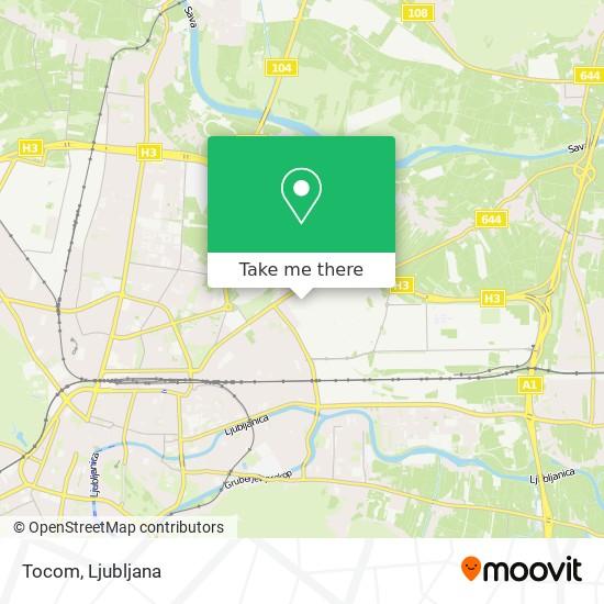 Tocom map