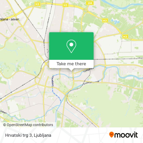 Hrvatski trg 3 map