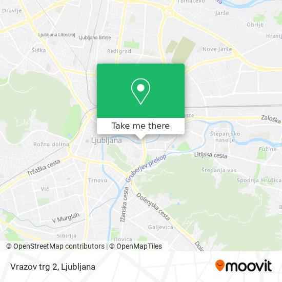 Vrazov trg 2 map