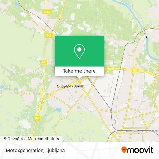 Motoxgeneration map