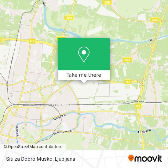 Siti za Dobro Musko map