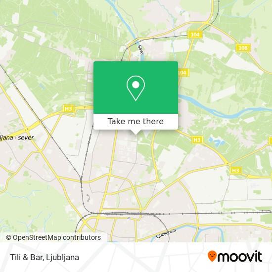 Tili & Bar map