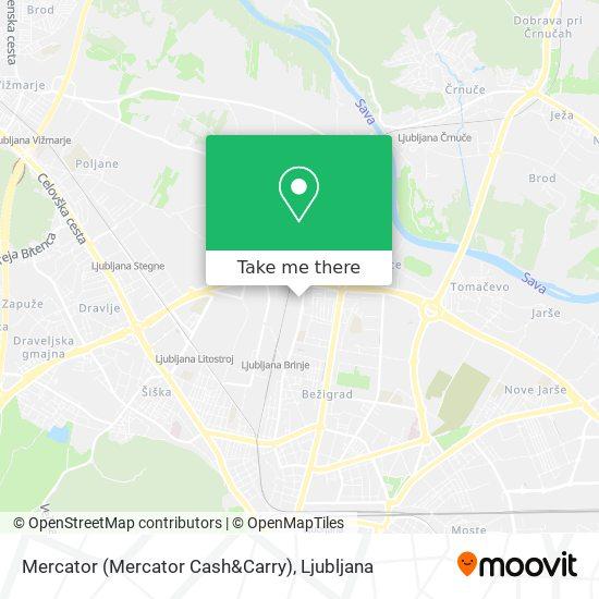 Mercator (Mercator Cash&Carry) map