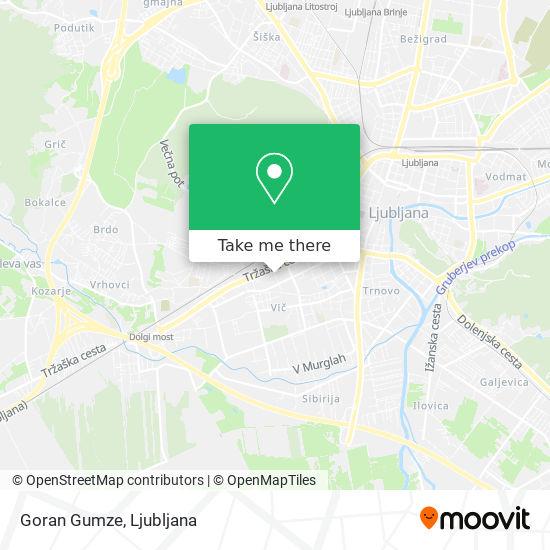 Goran Gumze map