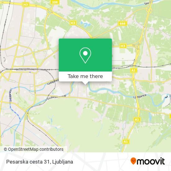 Pesarska cesta 31 map