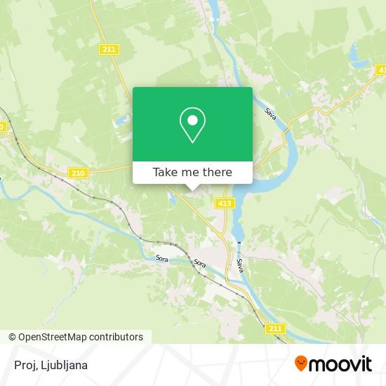 Proj map