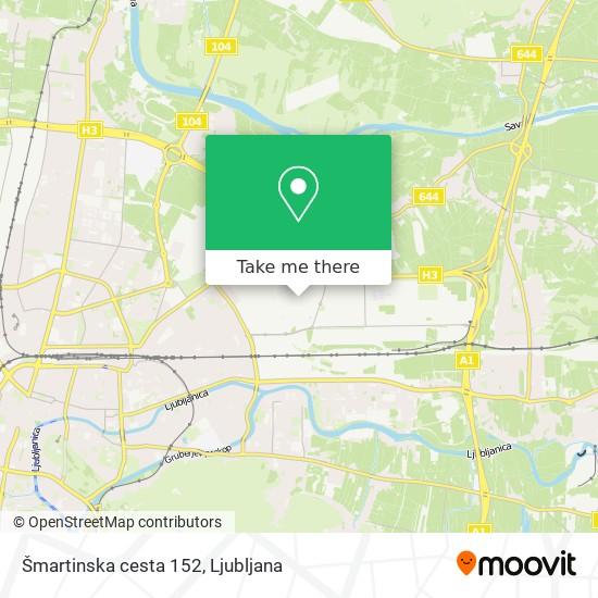 Šmartinska cesta 152 map