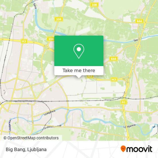 Big Bang map