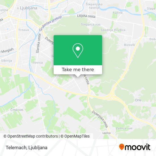 Telemach map