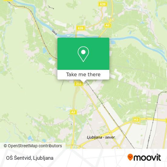 OŠ Šentvid map