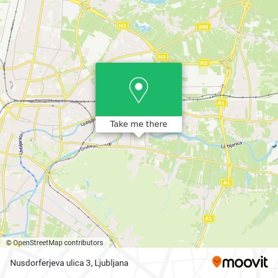 Nusdorferjeva ulica 3 map