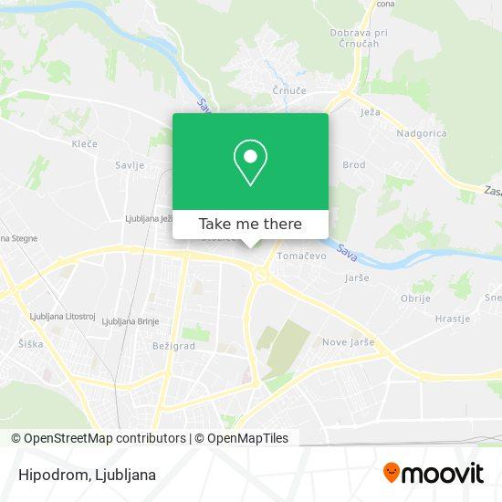 Hipodrom map
