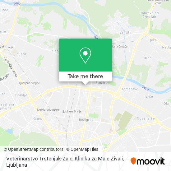 Veterinarstvo Trstenjak-Zajc, Klinika za Male Živali map