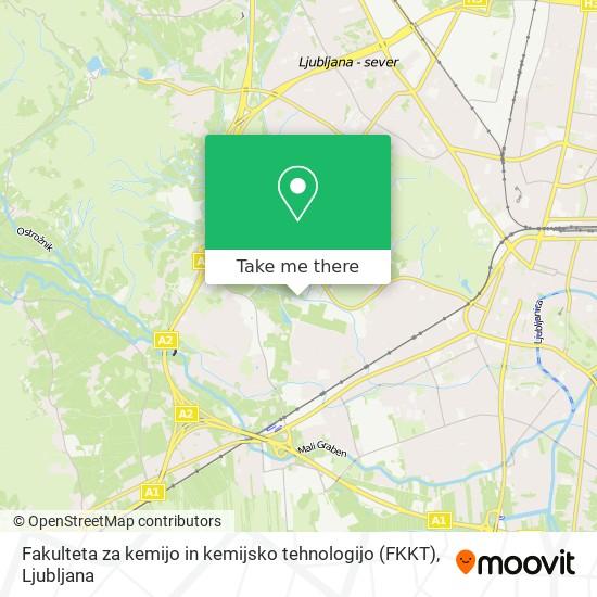 Fakulteta za kemijo in kemijsko tehnologijo (FKKT) map