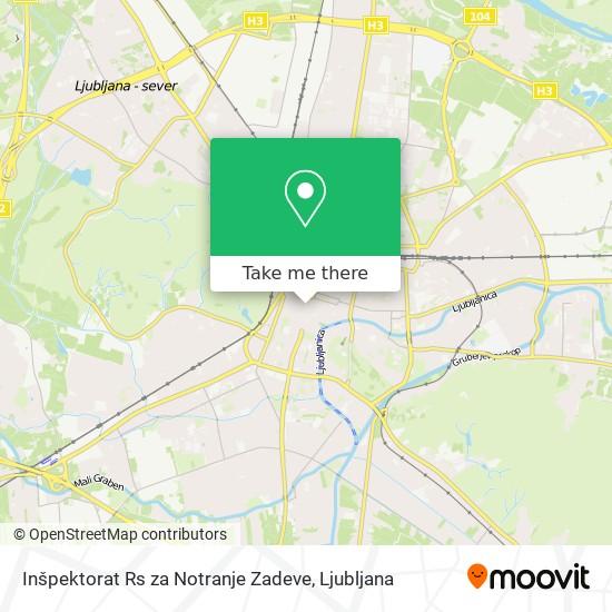 Inšpektorat Rs za Notranje Zadeve map