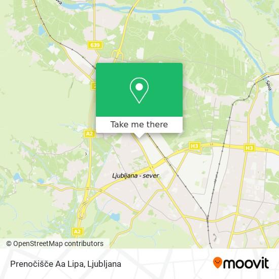 Prenočišče Aa Lipa map