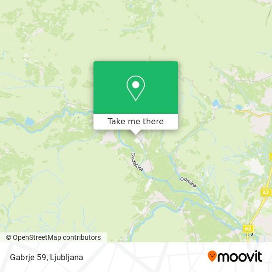 Gabrje 59 map
