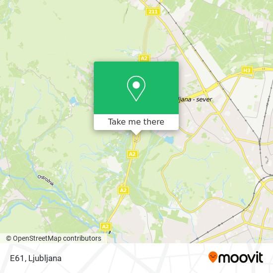 E61 map