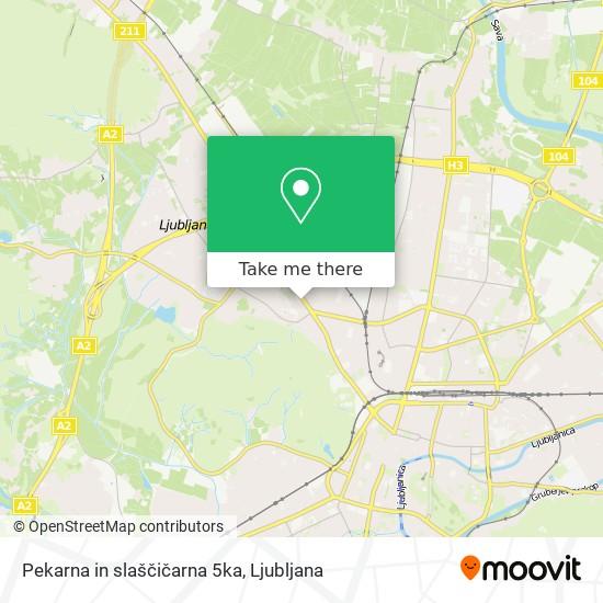 Pekarna in slaščičarna 5ka map