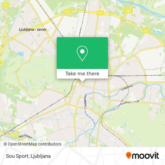 Sou Sport map