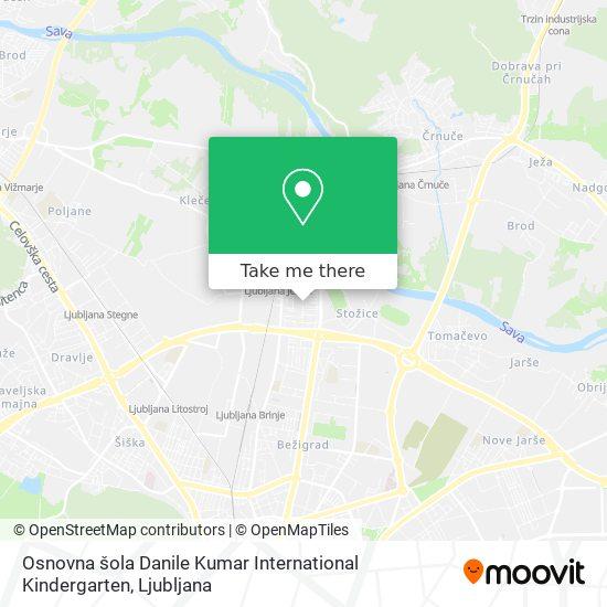 Osnovna šola Danile Kumar International Kindergarten map